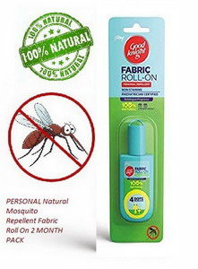Godrej Goodknight – PERSONAL Natural Mosquito Repellent Fabric Roll On 2 MONTH PACK