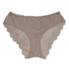 Brown Color Poly-amide Panties For Women