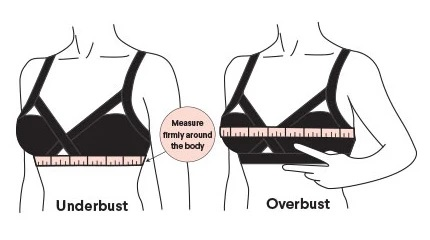 BRA SIZE & MEASUREMENT